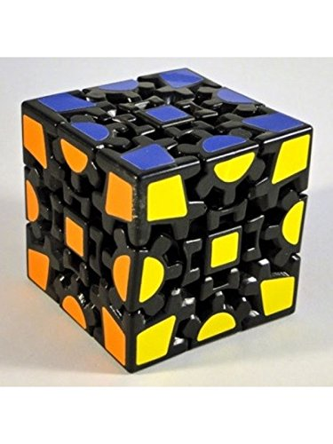 Magic Combination 3d Gear Cube I Generation Black Painted Stickerless Twisty Puzzle by Magic Cube