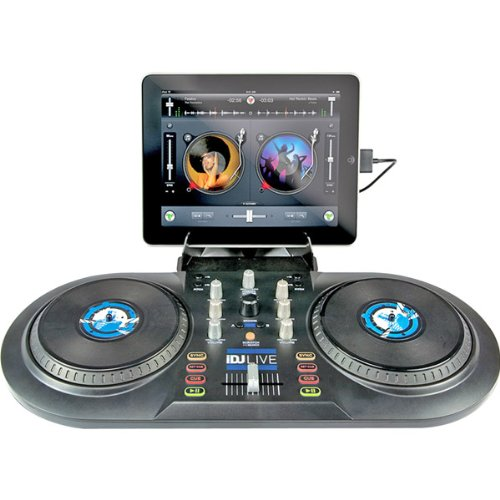 Sale!! Numark iDJ Live DJ Controller for iPad, iPhone or iPod Touch (30-pin)