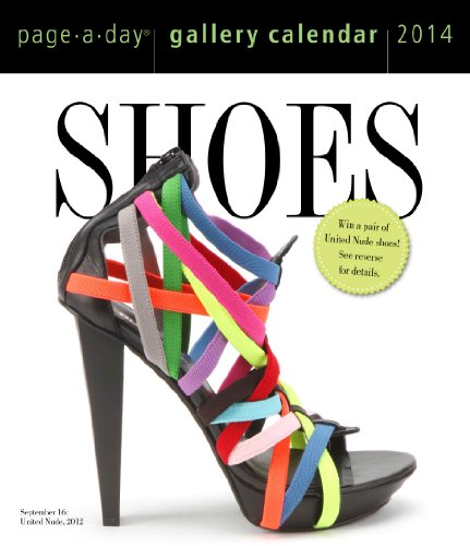 Shoes 2014 Gallery Calendar: Workman Publishing: 9780761173601: Amazon.com: Books