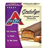 Atkins Endulge Treat, Chocolate Caramel Mousse Bar, 5 Bars