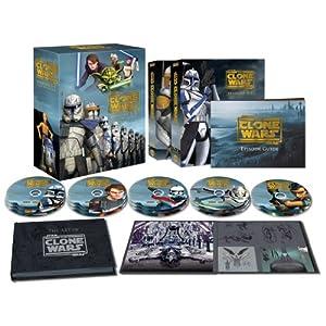 スター・ウォーズ:クローン・ウォーズ シーズン1-5 コレクターズエディション (14枚組)(2,000セット限定) Blu-ray