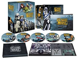 スター・ウォーズ:クローン・ウォーズ シーズン1-5 コレクターズエディション (14枚組)(2,000セット限定) [Blu-ray]