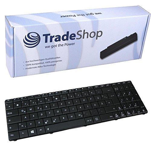 Laptop-Tastatur / Notebook Keyboard Ersatz Austausch Deutsch QWERTZ für Asus F75A-TY115H F75A-TY133H F75V X61 F75VB F75VC F75VD G51J G51V K53 K53U K55DE K55DR K55N K73BY N53NB (Deutsches Tastaturlayout)
