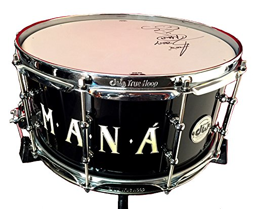 DW Collector's Series Snare Drum Signed By MANÁ