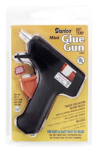Darice 10850 Super Mini Glue Gun with Trigger