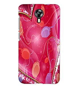 MICROMAX CANVAS XPRESS 2 E313 HEART Back Cover by PRINTSWAG