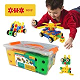 ETI Toys - Educational Construction Engineering Blocks for Boys and Girls - 90 Piece Set for Building Endless Combinations! Great for Learning & Having Fun - Build Your Imagination Today!