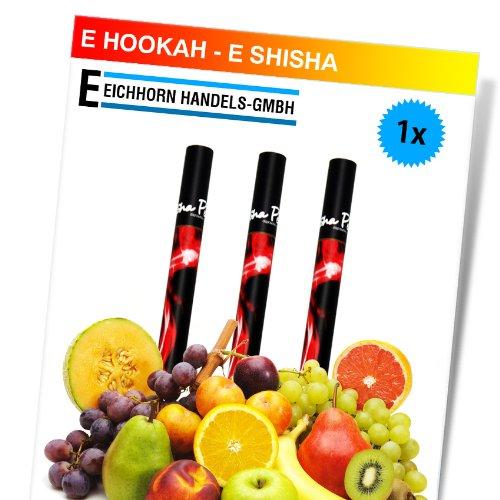 E-Hookah Elektrische Shisha Schischa Pfeife Wasserpfeife to go 2 go Neu Erdbeere