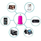 JPC® Hbs-730 Wireless Bluetooth Stereo Headset Headphone for Lg Samsung Iphone Sony Nokia Htc + Gift USB Car Charger (White)