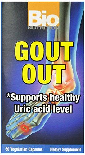 Bio Nutrition Gout Out Vegi-Caps, 60 Count