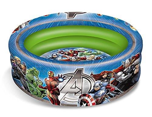 Mondo 16609 - Piscina Gonfiabile Avengers Assemble, 100 Cm