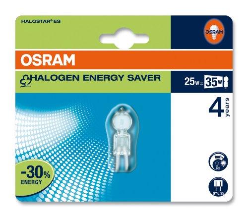 Osram 42288B1 Halostar Energy Saver GY6,35 67429 ES Halogenlampe 25W/12V