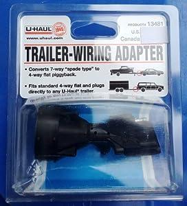 uhaul trailer wiring adapter model 13481. Black Bedroom Furniture Sets. Home Design Ideas