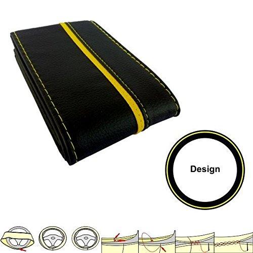 Housse prot ge akhan sc303by noir jaune housse de volant for Housse de volant chauffante