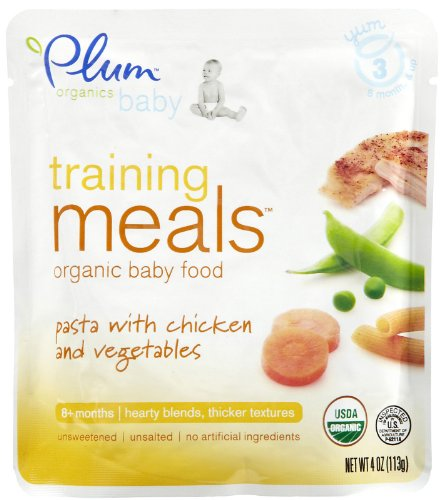 Plum Organics Training Meals Pasta with Chicken & Vegetables - 6 pk
