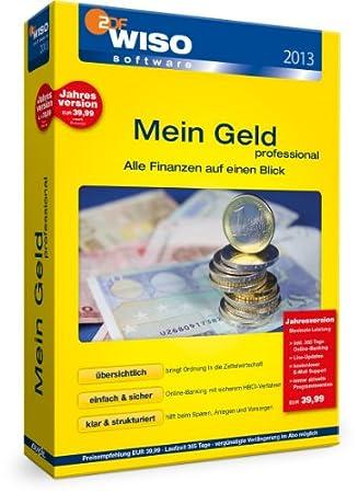 WISO Mein Geld 2013 Professional 365 Tage