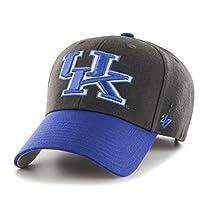 NCAA Kentucky Wildcats Audible Two Tone MVP Hat, One Size, Charcoal