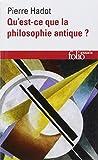 Qu Est Ce Que La Philo (Folio Essais) (French Edition) (2070327604) by Hadot, Pierre
