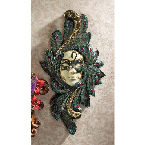 Wall Decoration With Masks : Home decor venetian style wall mask sculptures