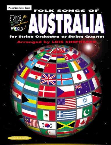 Strings Around the World: Folk Songs of Australia, Score