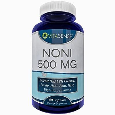 VitaSense 500 mg Noni Capsules - Pack of 60 Capsules by VitaSense