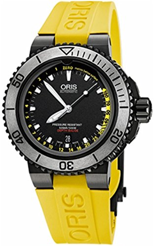 Montre R.ORIS SET AQUIS DEPTH GAUGE homme 73376754754RS
