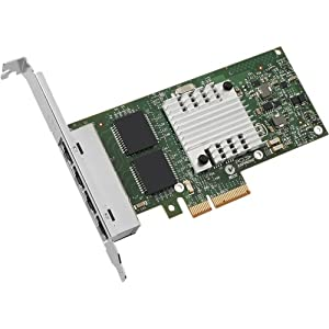 Intel Ethernet Server Adapter I340. T4 . Pci Express . 4 Port . 10/100/1000Base. T . Internal . Low. Profile, Full. Height . Retail