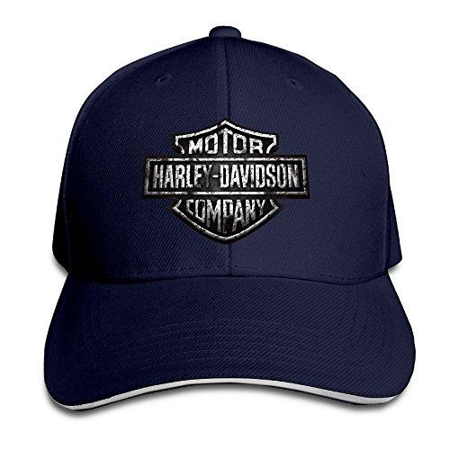 maneg-harley-logo-sandwich-peaked-hat-cap-navy