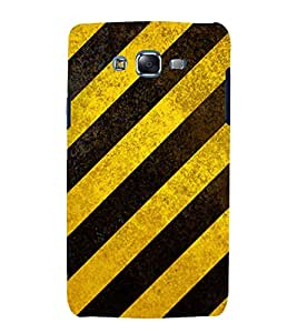 printtech Crossing Pattern Back Case Cover for Samsung Galaxy A7 / Samsung Galaxy A7 A700F