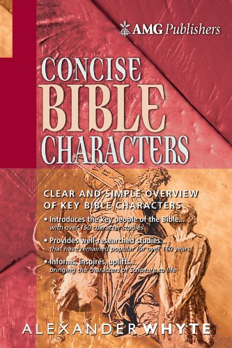 amg-concise-bible-characters-amg-concise-series-english-edition