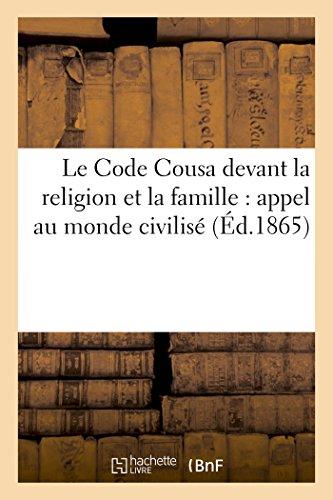 le-code-cousa-devant-la-religion-et-la-famille-appel-au-monde-civilise