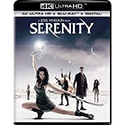 Serenity [4K Ultra HD + Blu-ray]