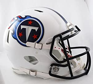 NFL Tennessee Titans Speed Authentic Football Helmet by Riddell