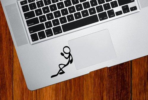 CHILL - Trackpad / Keyboard - Vinyl Decal Sticker (Black)