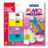 Staedtler Fimo Soft Set Kits For Kids Funny Garden 8024 40 L2