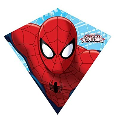 Marvel Ultimate 23-inches Nylon Diamond Kite:Spider-Man by X-Kites by X-Kites