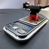Riverstone Audio Turntable Stylus Tracking Force Pressure Gauge / Scale, LP Digital Mini-Scale, 200g, 0.01g Resolution