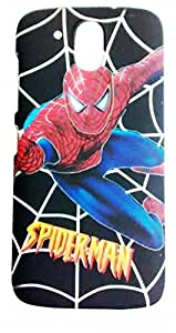 DRaX® HTC Desire 526 New Latest Luxury Designer Printed 3D Touch Feel Hard Back Case Cover - SPIDERMAN