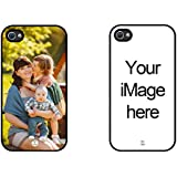 iPhone 4 Case, iPhone 4S Case, iZERCASE Personalized Custom Picture Phone Case Customizable (iPhone 4 / 4S)