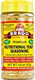 Bragg Nutritional Yeast Seasoning, Premium, 4.5 Ounce