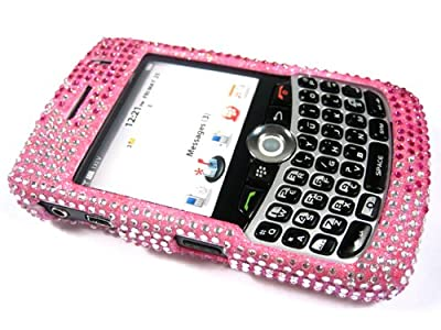 2 Tone Pink Bling Rhinestone Crystal Case Cover for Blackberry Curve 8300 8310 8320 8330 from RM Trading
