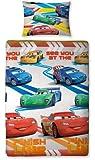 Disney Cars Speed Single Rotary Duvet Set, Multi-Colour