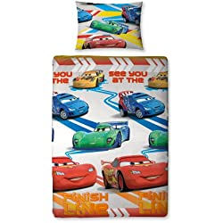 "Character World Disney Cars ""Speed"" Completo letto"