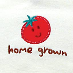 Hudson Baby Organic Bodysuit - Tomato Ecru - 3-6 Months
