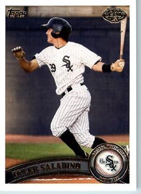 2011 Topps Pro Debut Baseball Card # 165 Tyler Saladino - Bristol White Sox - MiLB (Prospect - Rookie Card) MLB Trading Card