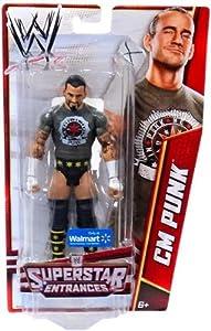 Exclusive Superstar Entrances CM Punk Action Figure: Toys & Games
