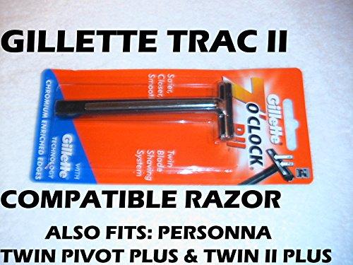 Trac II Razor (Compatible) (Trac Ii Handle compare prices)