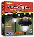 Ideaworks JB5629 Solar-Powered LED Ac...