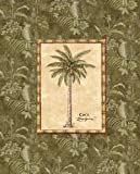 Set-of-4-Island-Beach-Palm-Trees-Art-Posters-Home-Office-Bathroom-Decor-8×10-Inches-Great-for-Framing