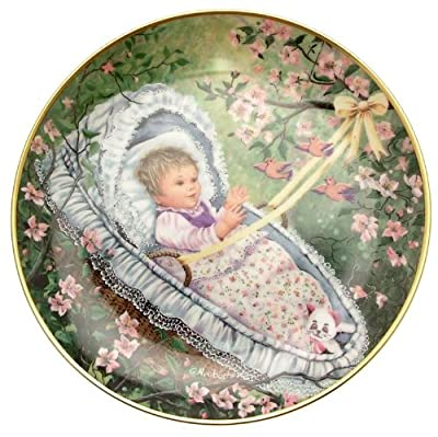 c1985 Kaiser rockabye Baby on the Treetop Gerda Neubacher Classic Lullabies of the World plate TN178
